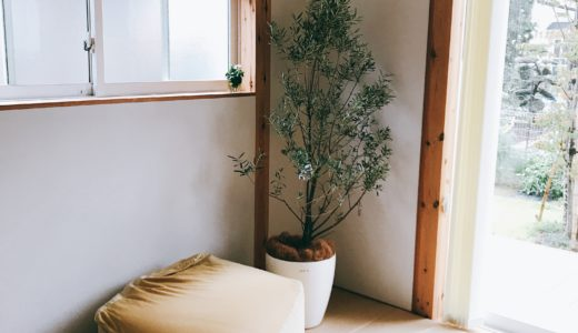 無印良品の麻畳マットでフローリングのリビングに和室を作りました。