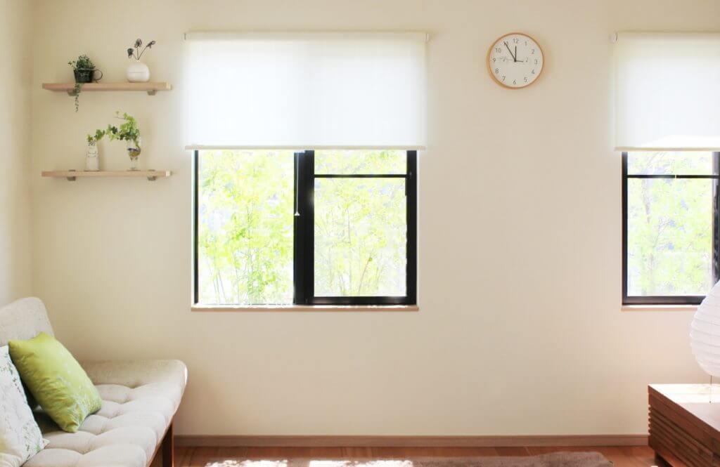 無印 木の家 ロールスクリーン サンプル