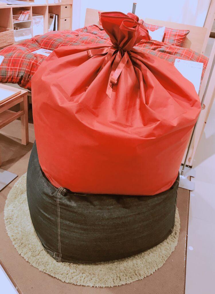 無印 木の家 クッション フィット ソファー プレゼント 包装