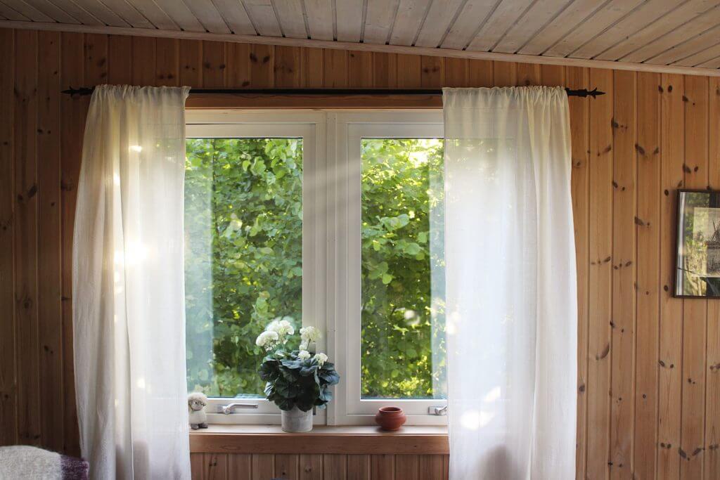 無印 木の家 カーテン サンプル
