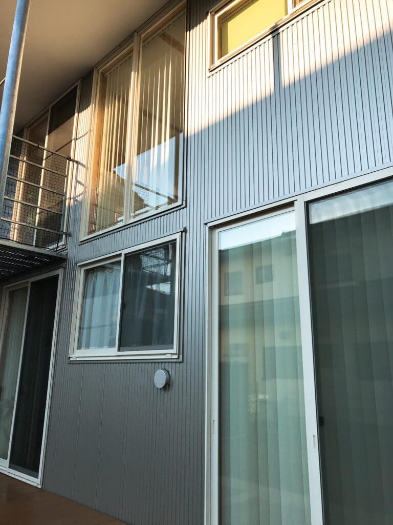 無印 木の家 高圧洗浄機 ケルヒャー 窓 掃除
