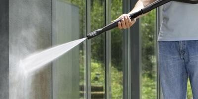 無印 木の家 高圧洗浄機 ケルヒャー ウッドデッキ 掃除