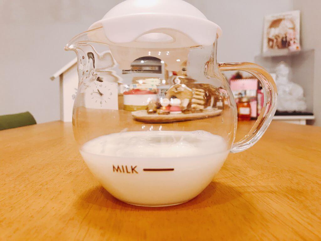 無印 木の家 ミルク クリーマー HARIO