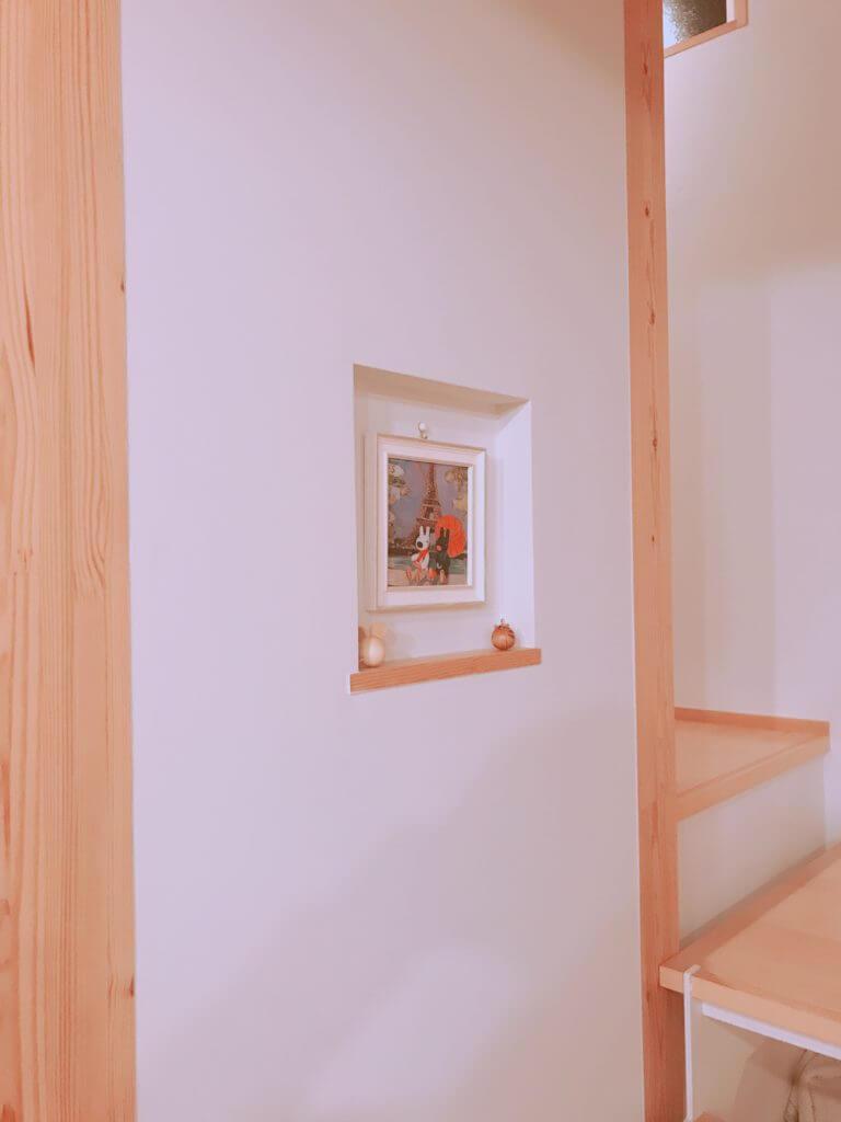 無印 木の家 ニッチ 例