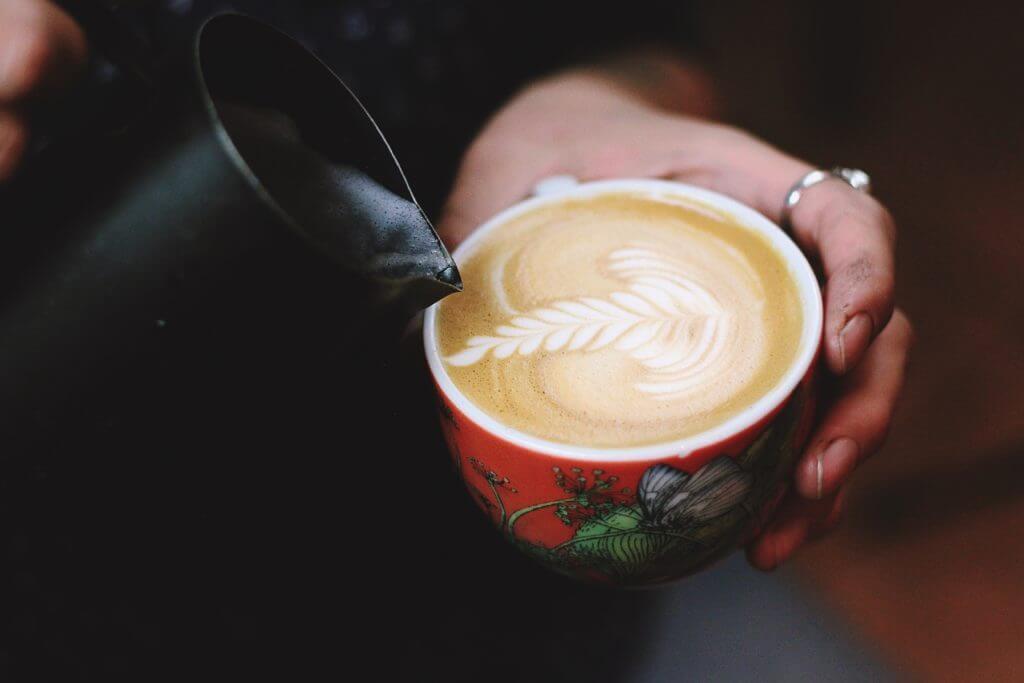 無印 木の家 ミルク カフェ アート