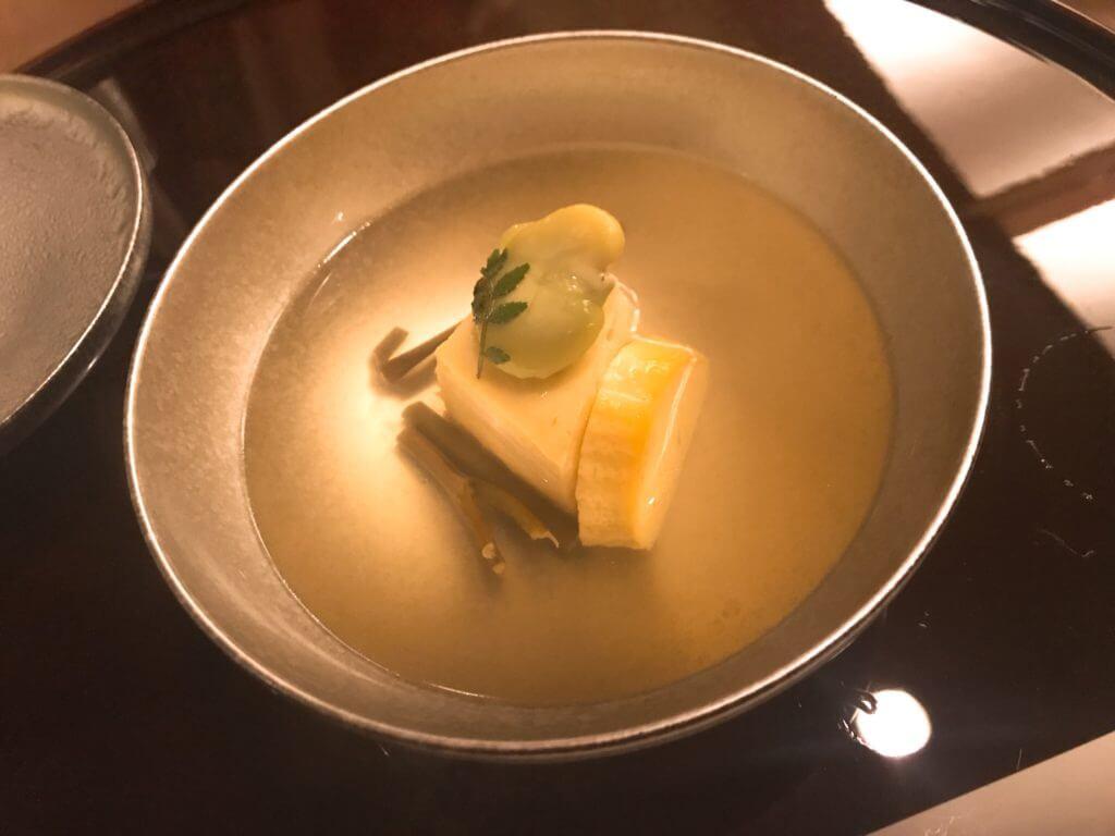 赤沢温泉ホテルの夕食:汁物