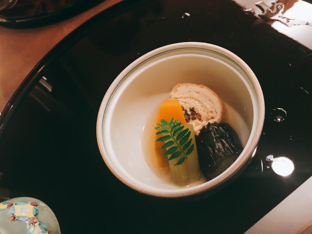 赤沢温泉ホテルの夕食:煮物
