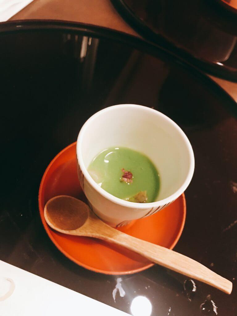 赤沢温泉ホテルの夕食:口直し