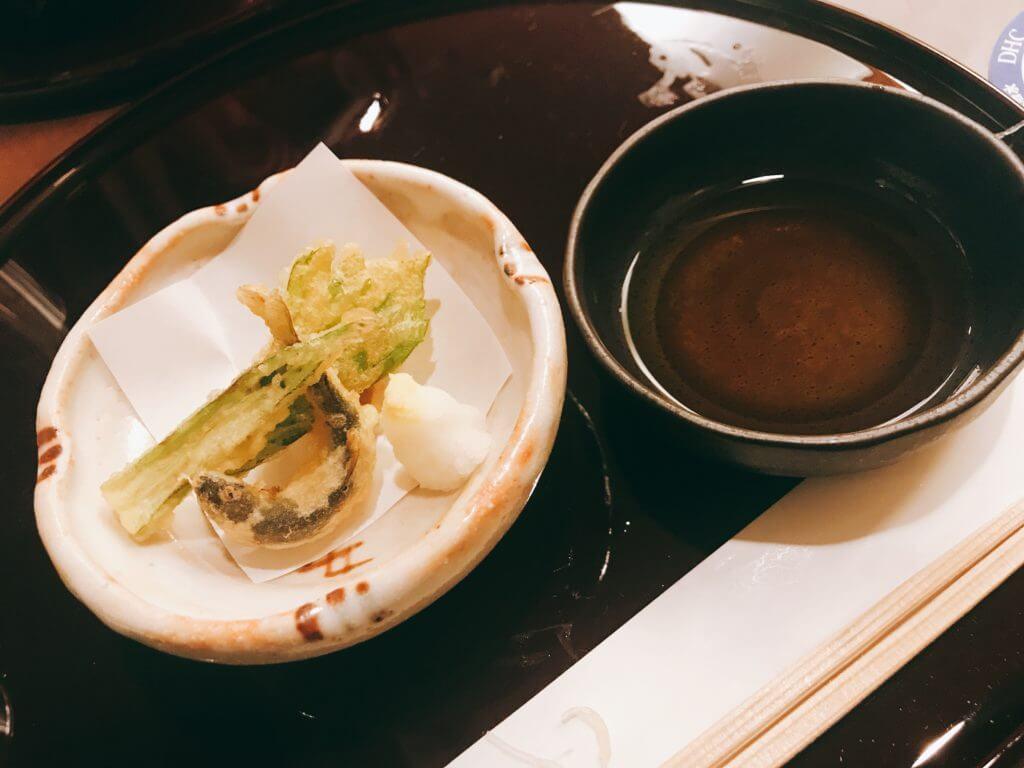 赤沢温泉ホテルの夕食:揚げ物