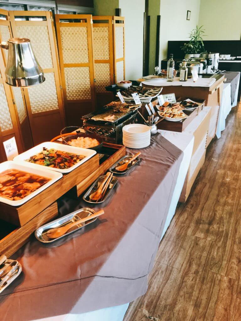赤沢温泉ホテルの朝食