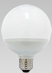 木の家の真ん丸の電球
