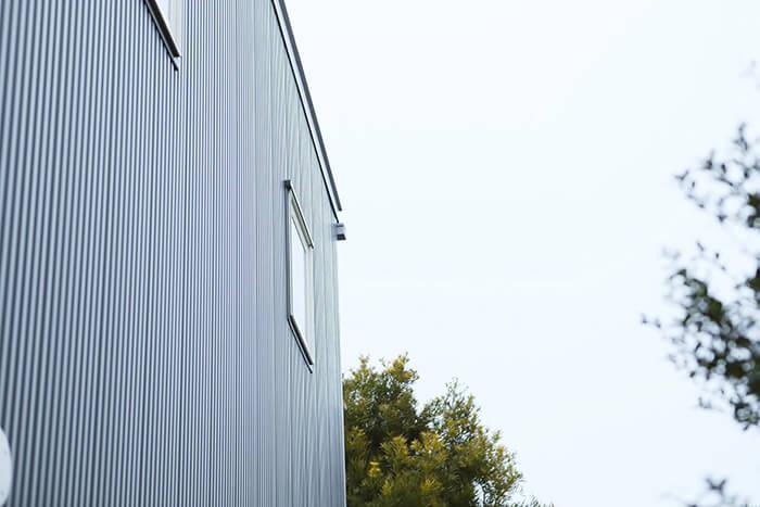 無印良品の家、木の家の外観