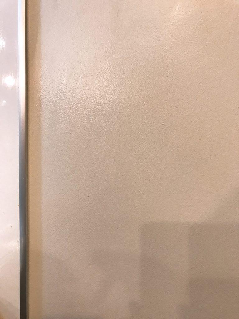 ウタマロクリーナーでキレイにした無印の木の家の壁