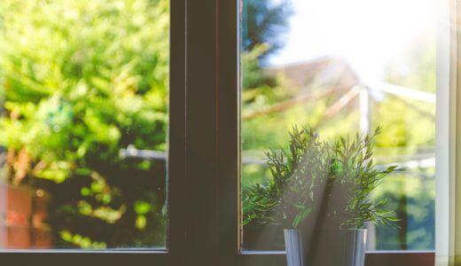 家の2階の窓掃除は、4.6Mまで伸びるガラスワイパーを使うと簡単です