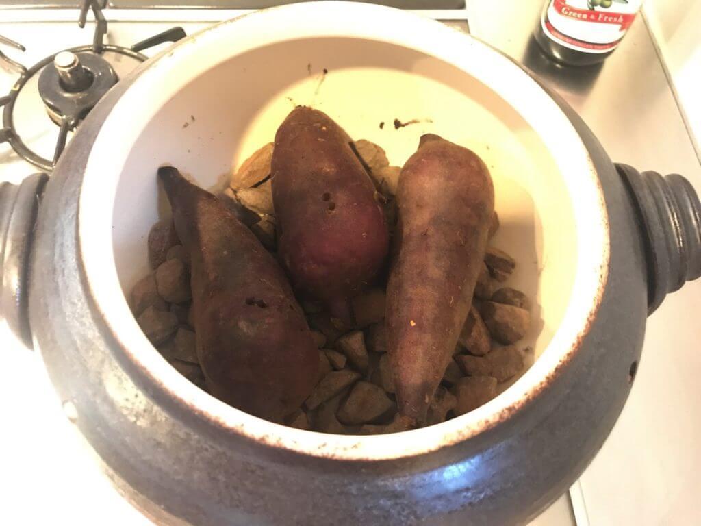 いも太郎で20分加熱した焼き芋