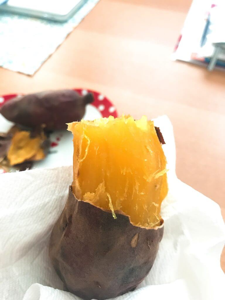 ほくほくの焼き芋