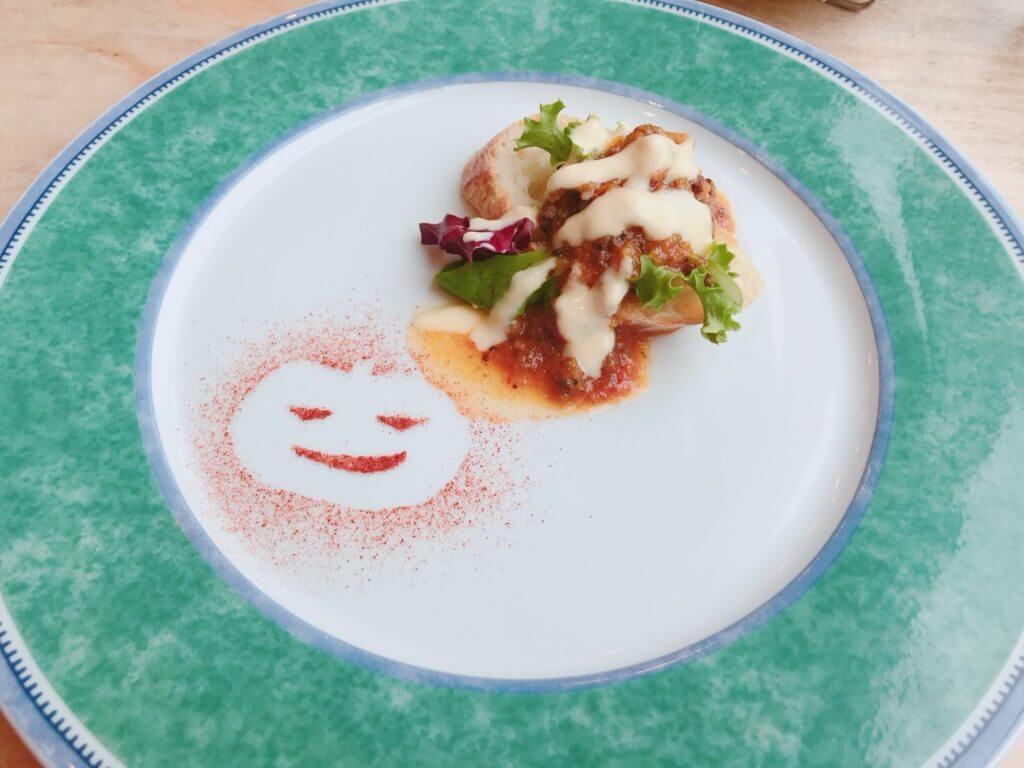 カーブドッチのコース:前菜