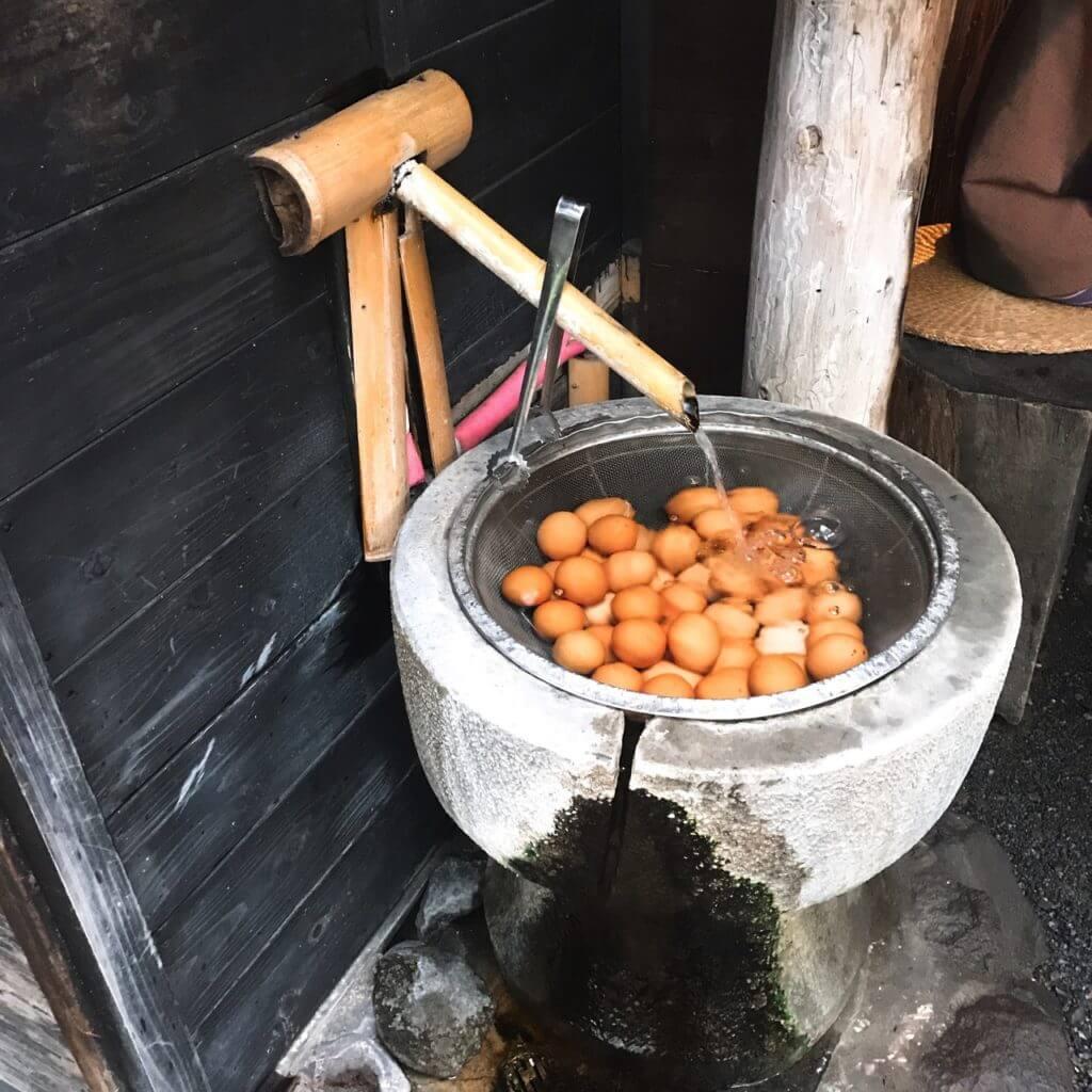 ゆふいん亭:温泉卵