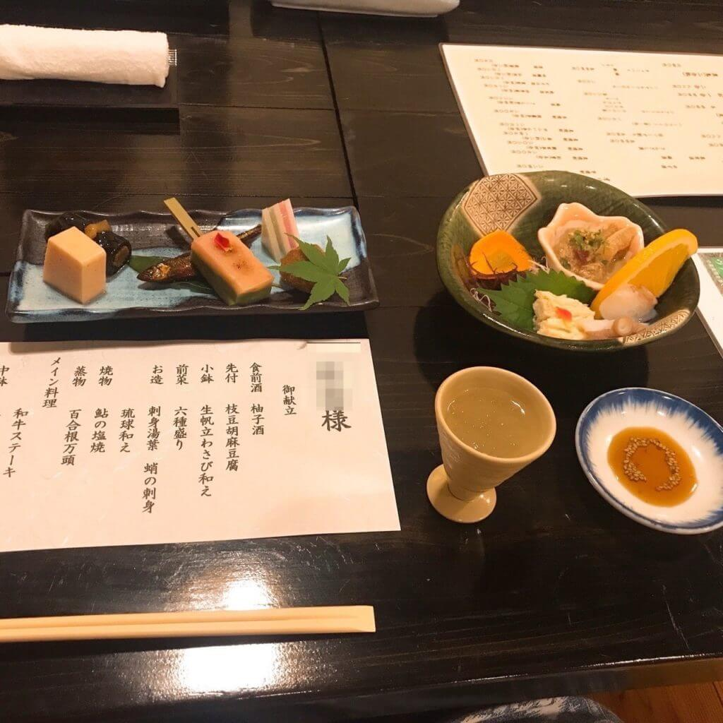 ゆふいん亭:夕食
