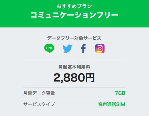 line mobileの価格