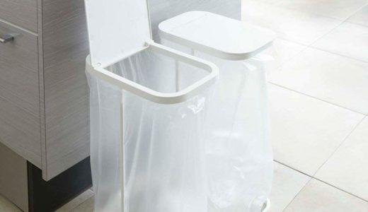 キッチンにピッタリ。超シンプルでオシャレな使い勝手が良いゴミ箱