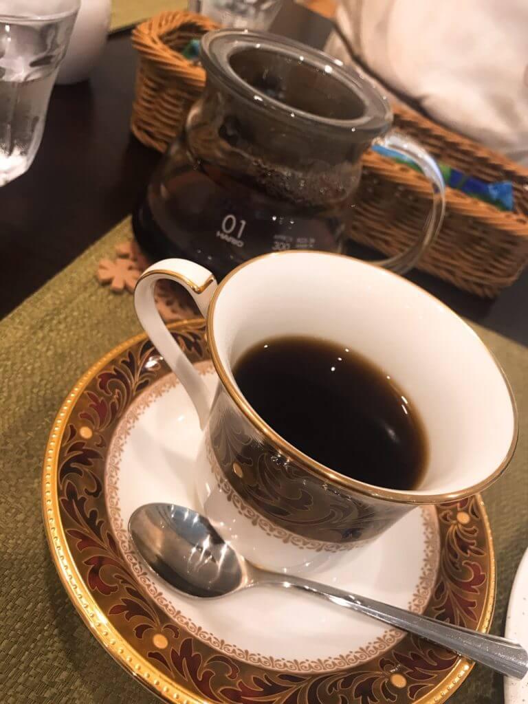 珈琲と紅茶「瑞季」のコーヒー