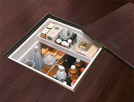 床下収納の例