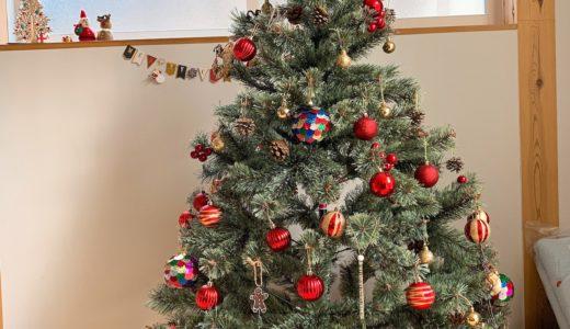 【実例】可愛いクリスマスツリーを作るオーナメントの飾付けのポイント
