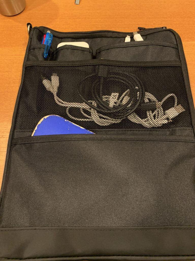 バッグインバッグの収納例