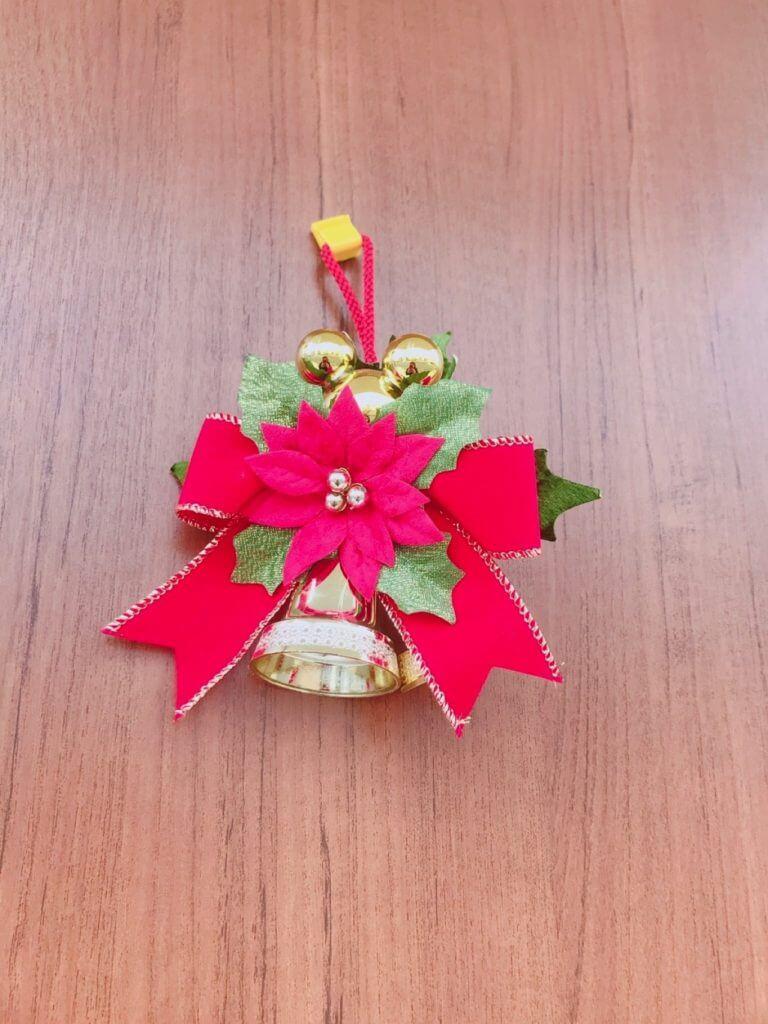 無印良品の木の家のクリスマスの飾り:玄関