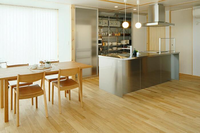 無印良品の木の家の床1