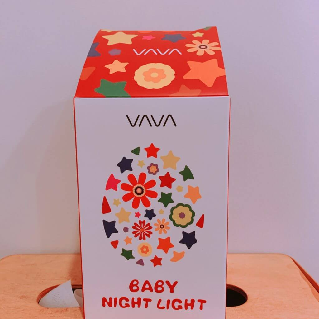 VAVAのナイトライト外箱