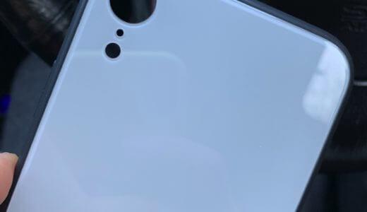 iPhoneXRのシンプルで可愛いケースを購入。綺麗なホワイトでおすすめ
