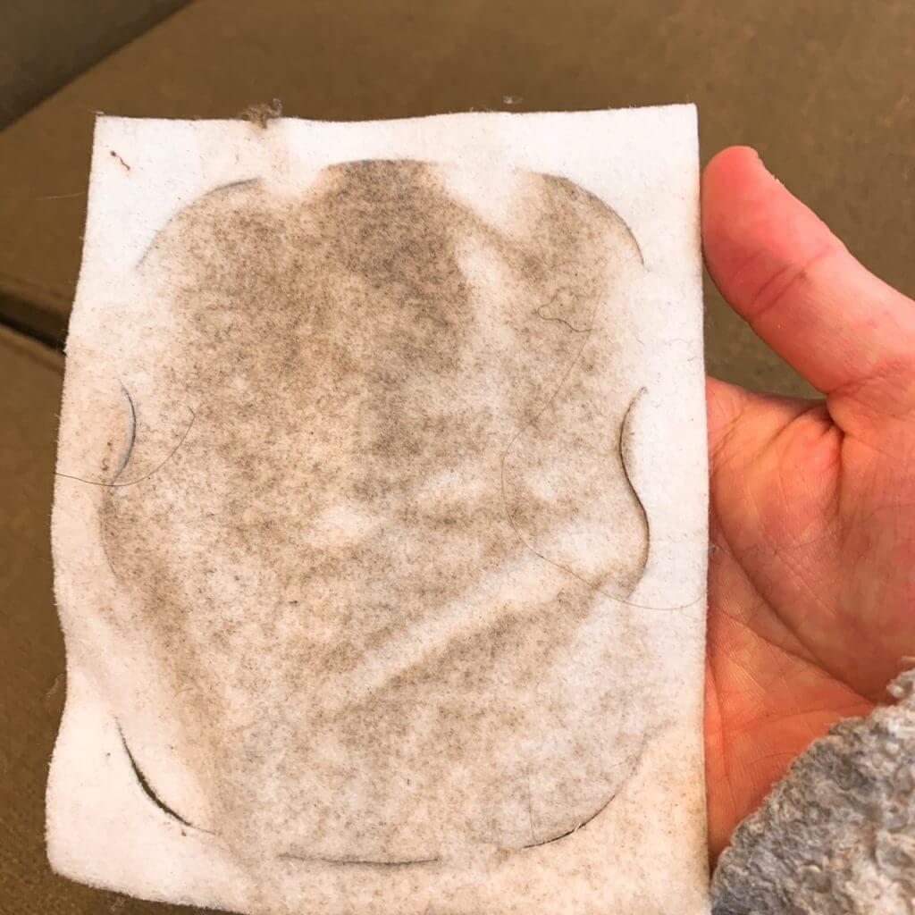 クイックルのソファーの汚れ落としお掃除シート