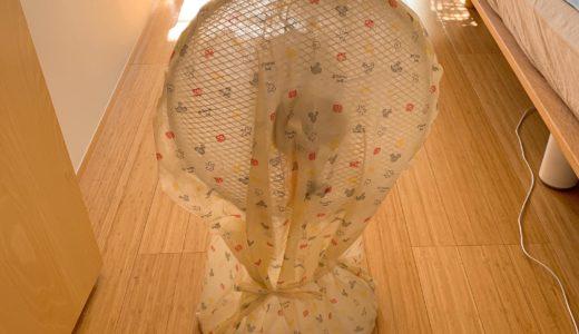 扇風機の収納方法。1番のオススメは埃を防ぐ収納ケースカバーを使用