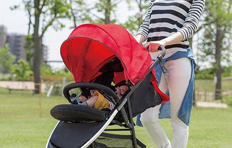 3輪ベビーカー「スムーブ」購入!赤ちゃんに優しく、押しやすい!超おすすめ