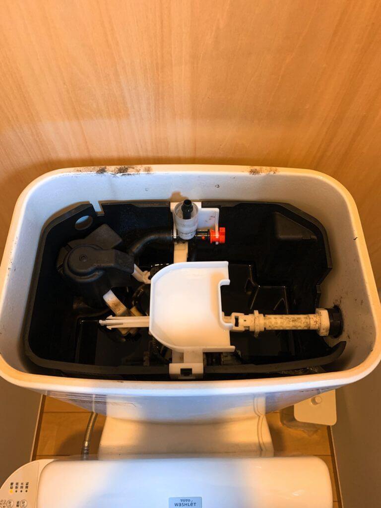 トイレのタンク