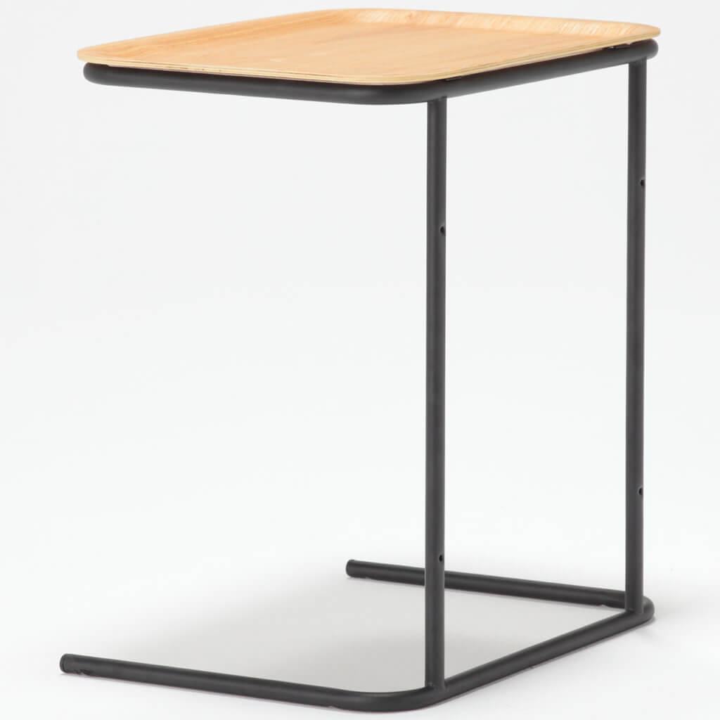 無印良品のサイドテーブルの見本