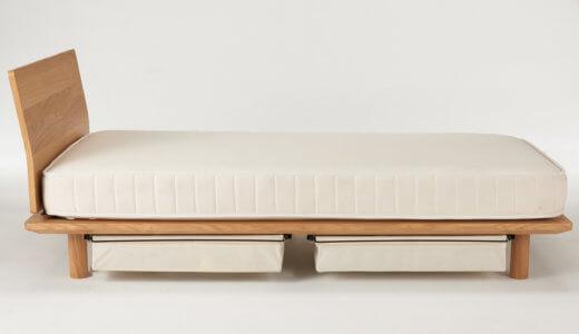 無印良品のスモールサイズのベッドを購入!173cmの大人が使った使用感