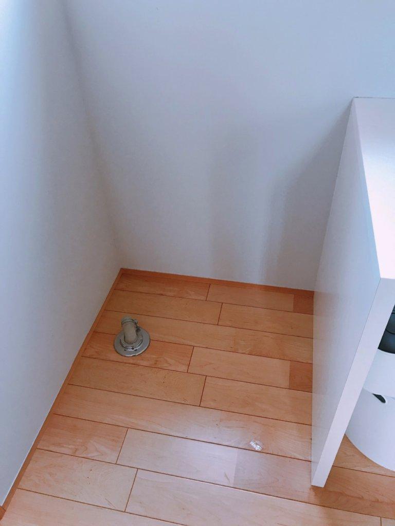 ドラム式洗濯機の設置スペース