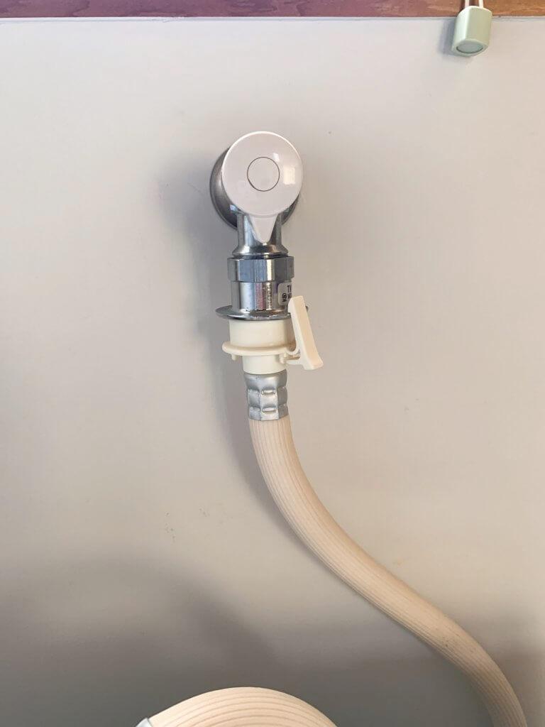洗濯機の水道の蛇口の形