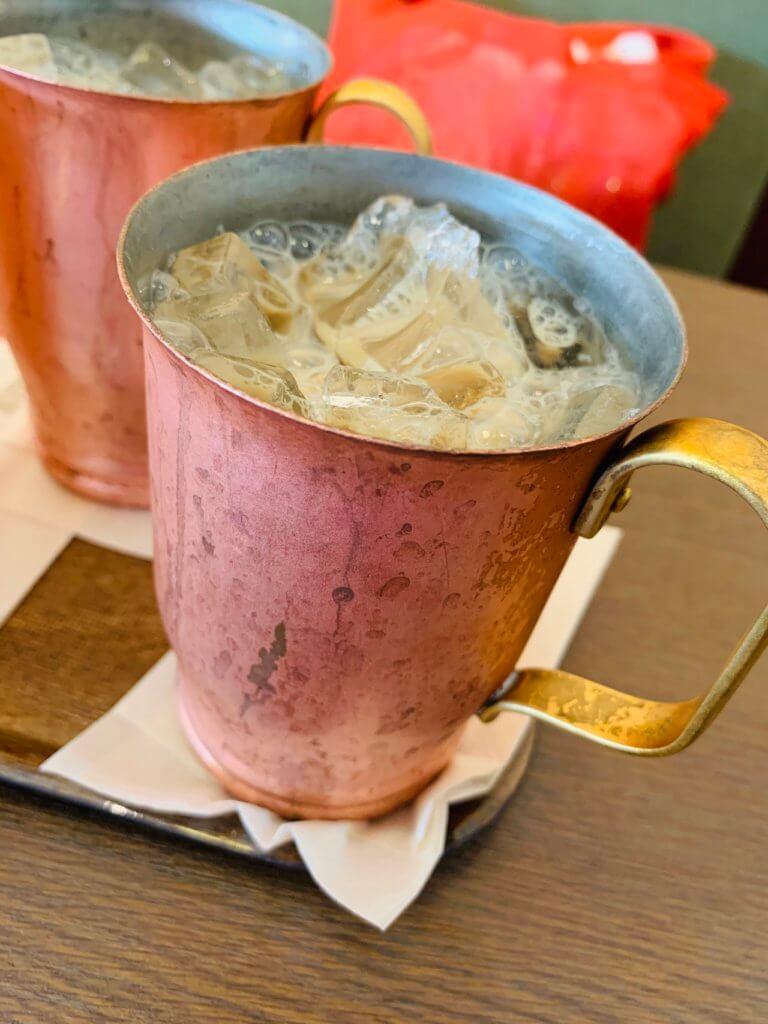 上島珈琲の黒糖ミルク珈琲