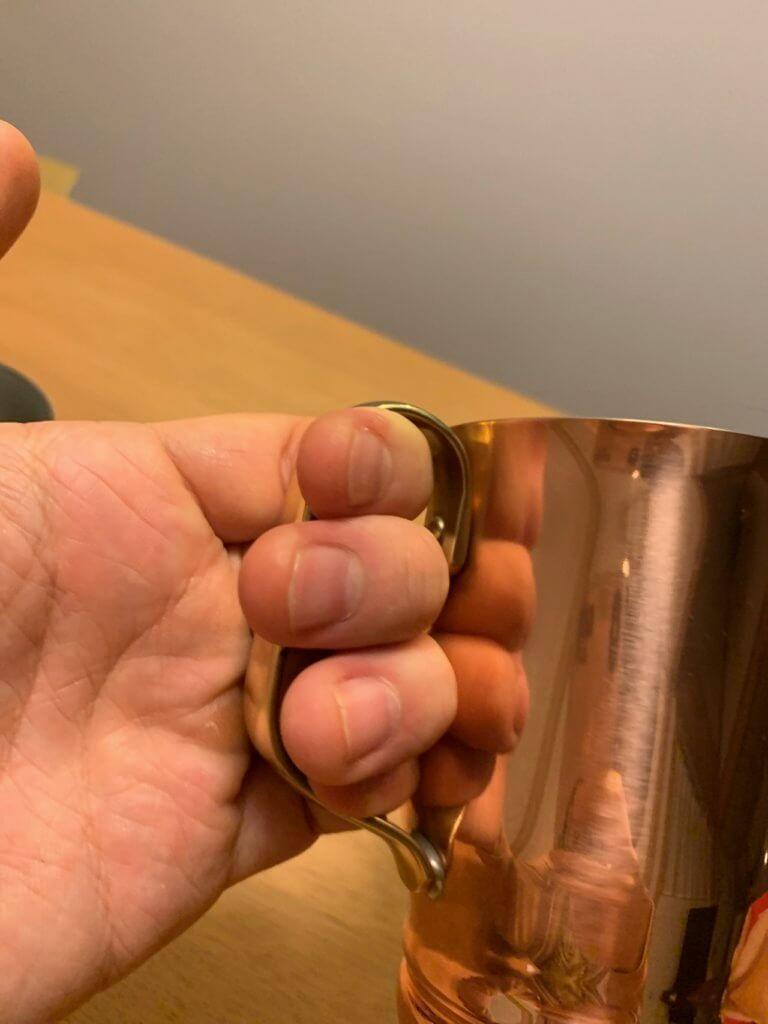 copper-mug-和田助の銅マグカップの取っ手