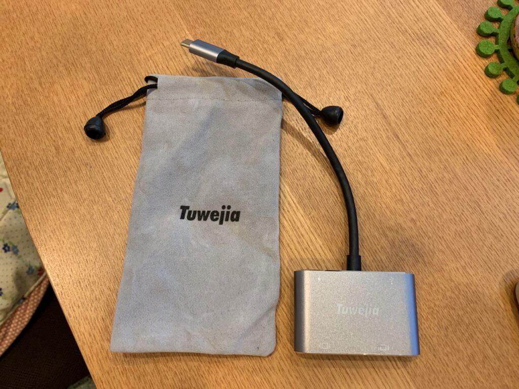 Tuwejia 4-in-1 USB Type C アダプタ