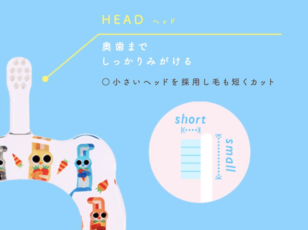 HAMOCOの歯ブラシの特長2