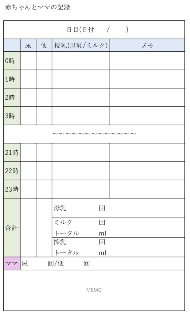 赤ちゃんの授乳記録_成長日記_原本png