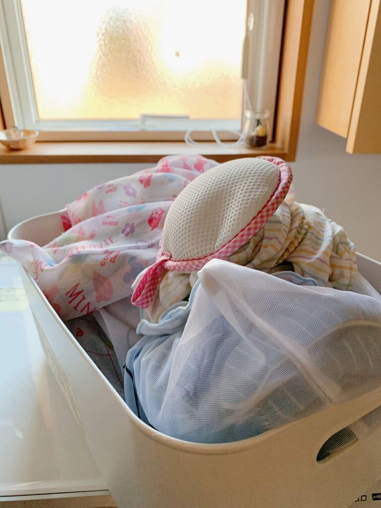 洗濯まぐちゃん、洗濯後