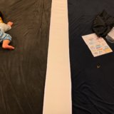 ベッドが連結できる連結ベルトを付けた無印良品のベッド