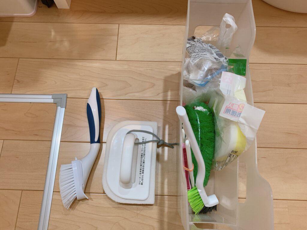 洗面台下の収納対象用品