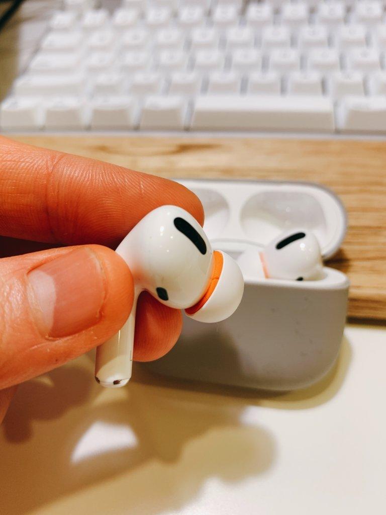 AirPods-proにSymbio Eartipsを装着